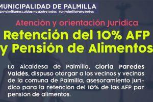 Asesoría jurídica para habitantes de la comuna de Palmilla.