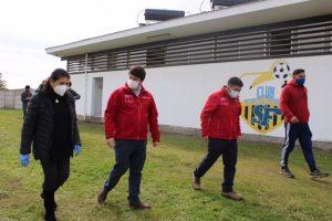 Subsecretario de energía visitó Comuna de Palmilla.