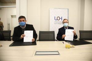 Universidad de O'Higgins y Municipalidad de Doñihue suscribieron convenio de colaboración  en investigación.