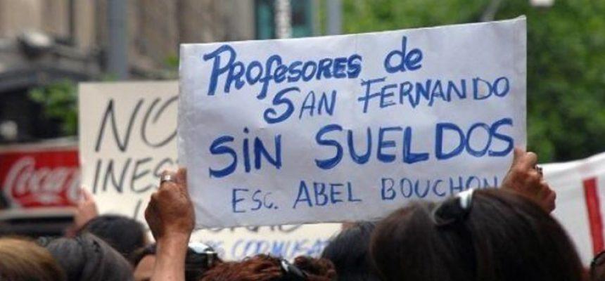 Profesores de San Fernando esperan pronunciamiento de Corporación Municipal por irregularidad de no pago de sueldos.