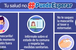 INJUV intensifica mensaje de prevención  COVID-19 con campaña #PuedeEsperar.