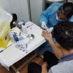 Más de 200 privados de libertad participaron en operativo de test rápido de VIH en O'Higgins.