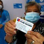 Chile supera los tres millones de vacunados con al menos la primera dosis contra el Covid-19.
