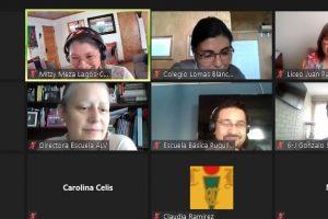 Reunión de establecimientos educacionales con SENDA Previene en Nancagua.
