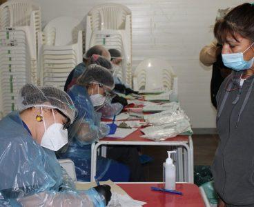 Búsqueda activa de casos COVID en comuna de Palmilla.